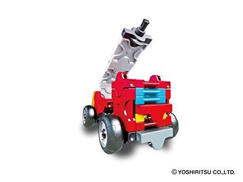 ラキュー (LaQ) ハマクロンコンストラクター ミニ 消防車_画像3