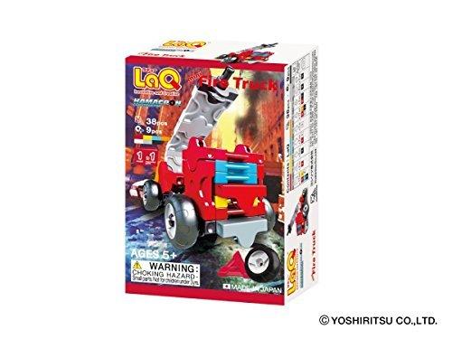 ラキュー (LaQ) ハマクロンコンストラクター ミニ 消防車_画像4
