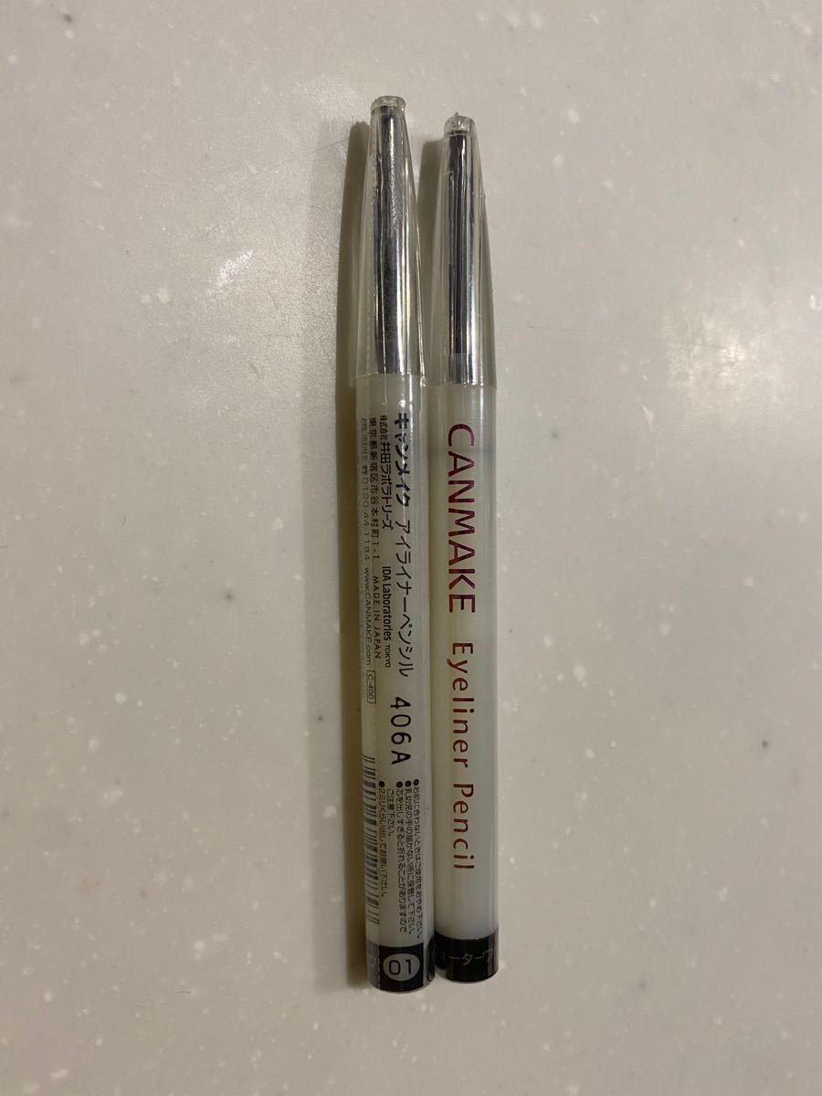 キャンメイク アイライナーペンシル01 ブラック 0.2g
