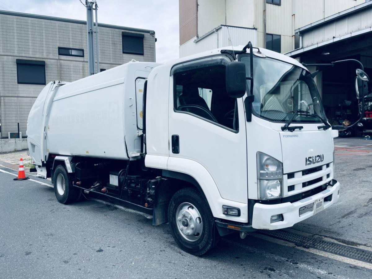 「車検付★極東開発10立米プレス式パッカー★ベット付」の画像1
