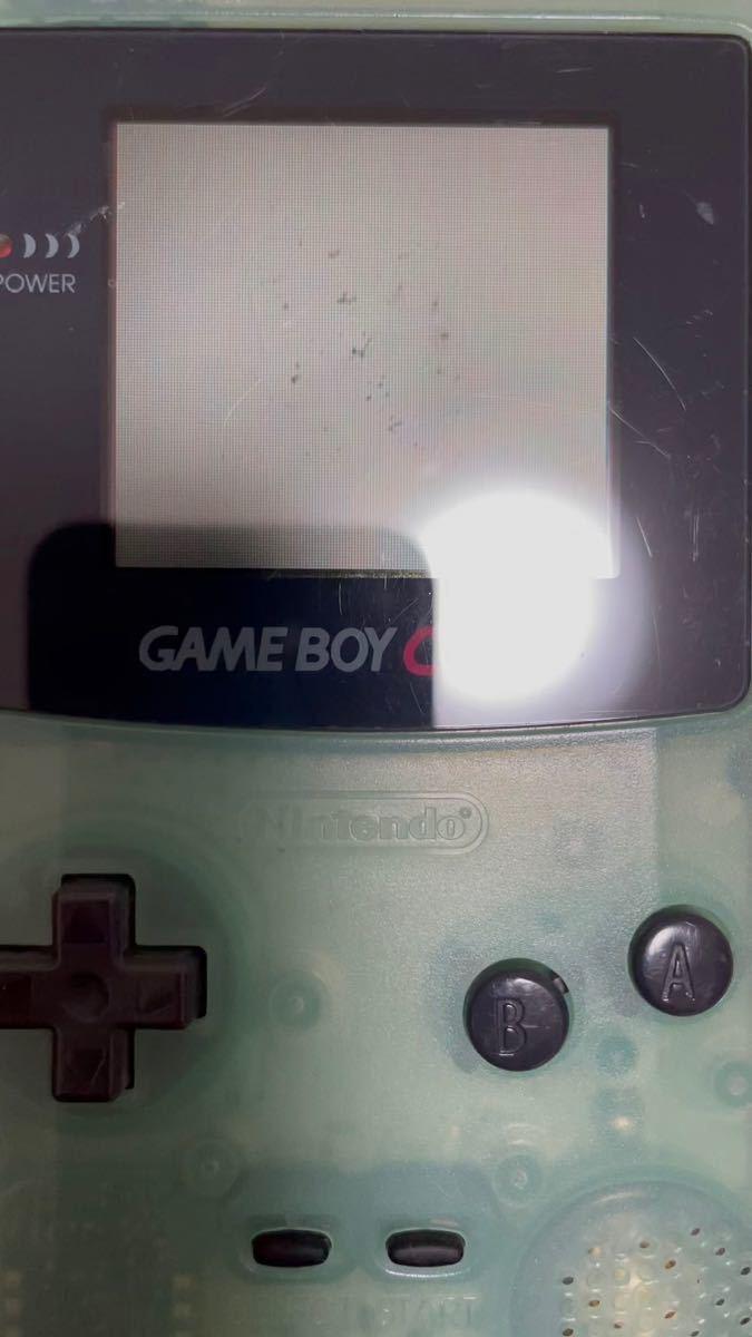 ゲームボーイカラー 任天堂 Nintendo クリアブルー