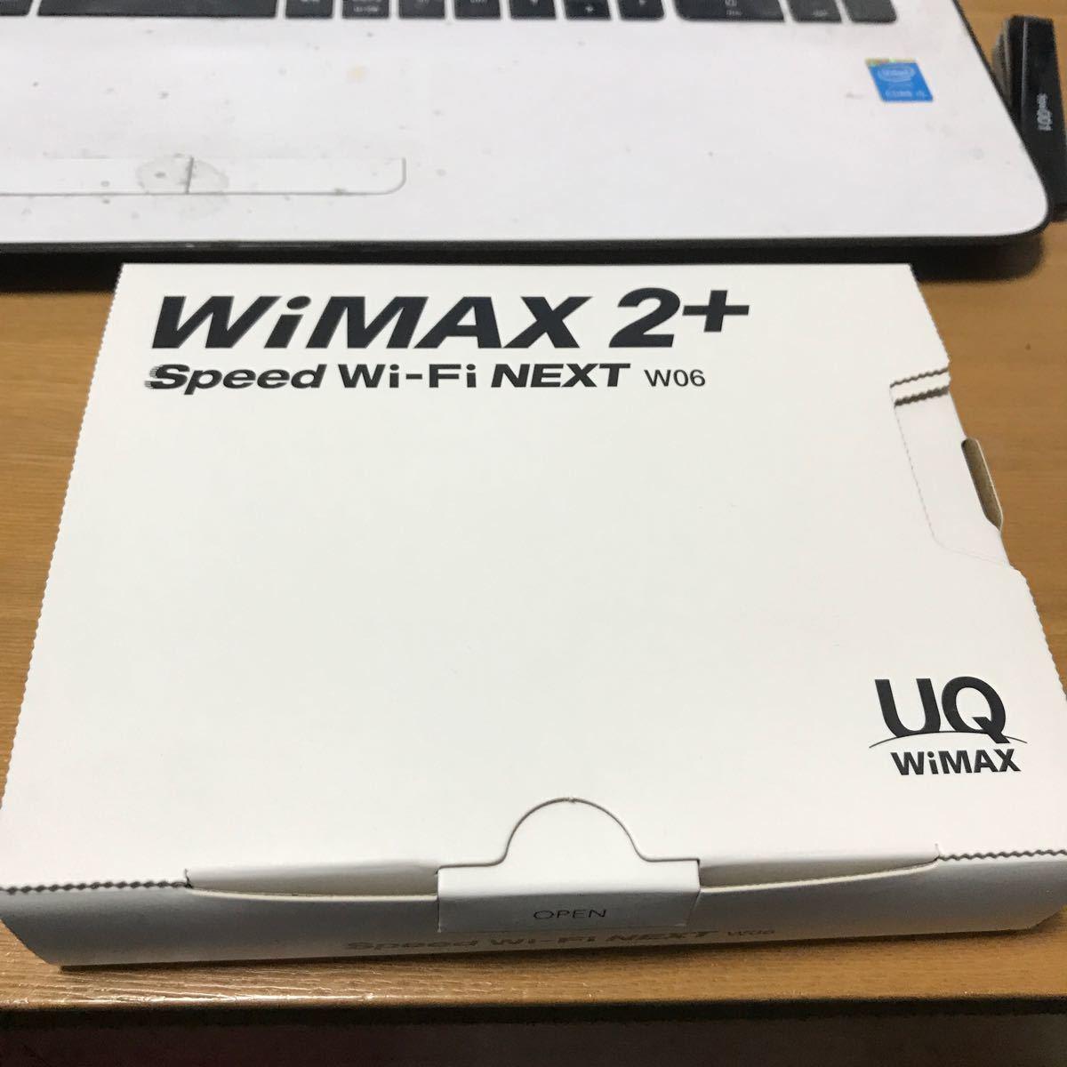 Pocket WiFi Speed Wi-Fi NEXT W06 + 充電器