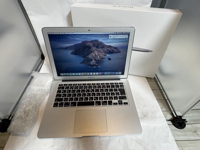 *美品 Apple MacBook Air 2017 A1466 Core i5 5350U/13.3インチ/Win 10 Pro/Win 7 Pro/8