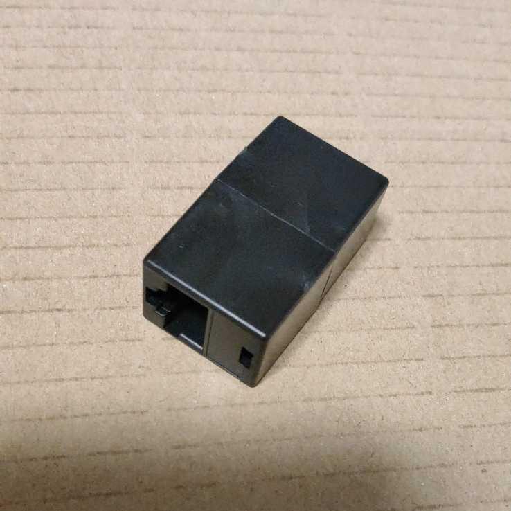 ◆LANケーブル延長コネクター ブラック
