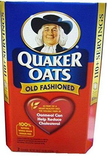 クエーカー QUAKER OATS オールドファッションオートミール4.52kg 2.26kgX2パック入_画像1