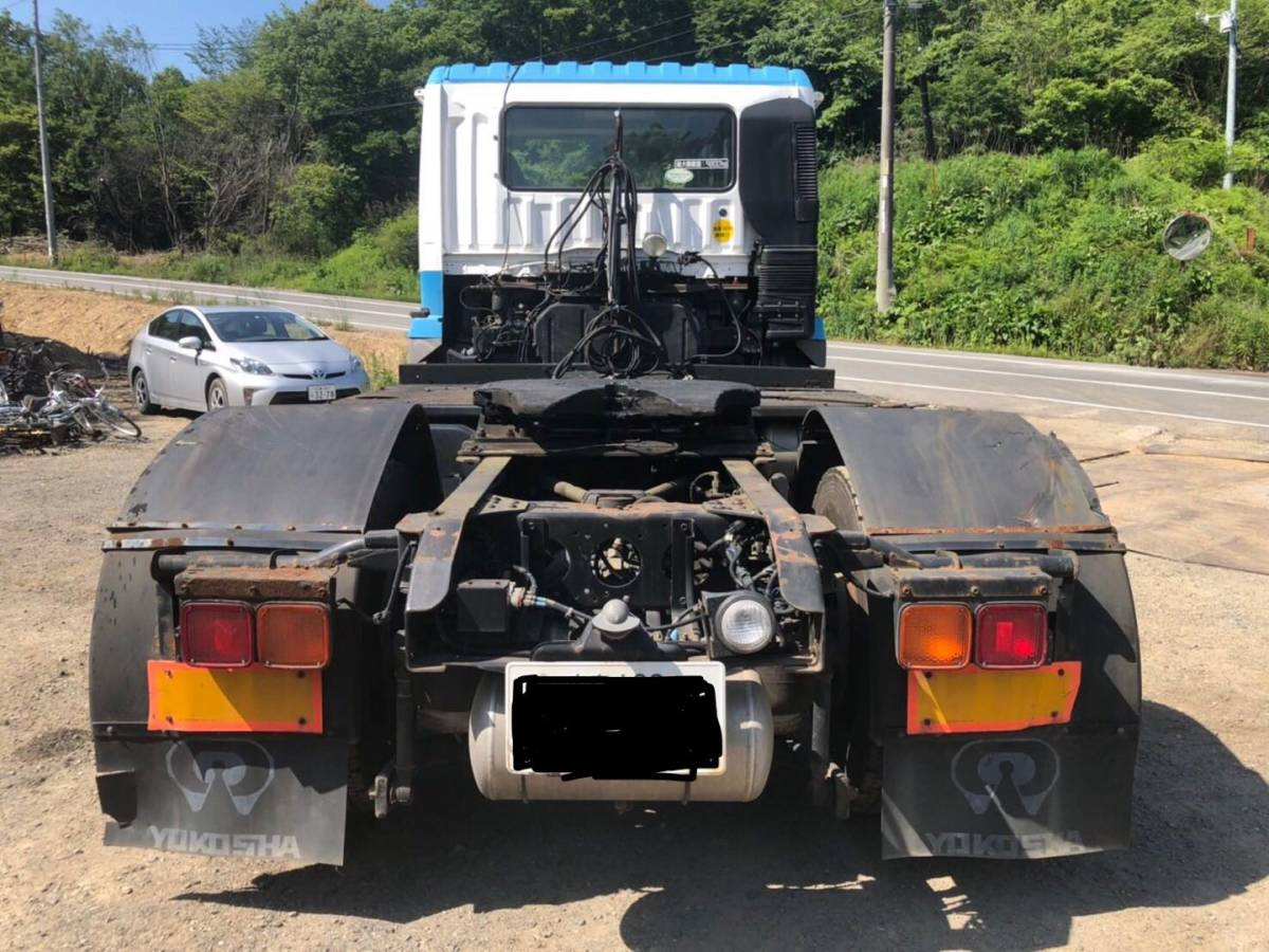 「19年式 三菱ふそう MITSUBISHI スーパーグレート トレーラーヘッド トラクター 」の画像3