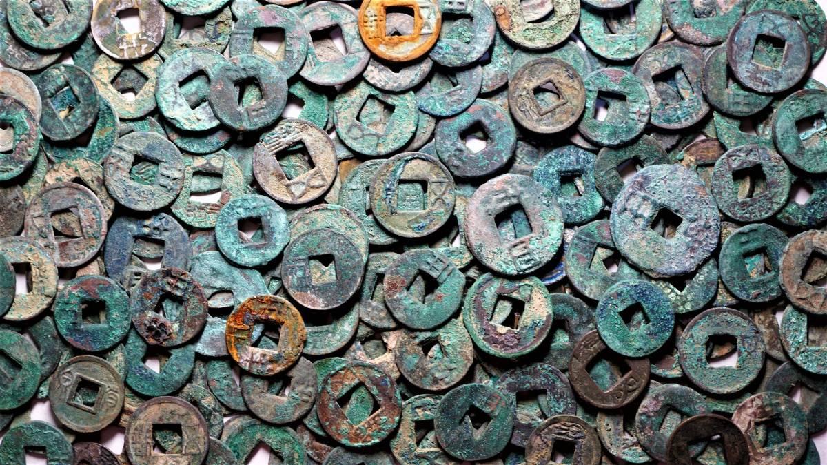 中国古文銭 200枚組 半両・五銖など 中国古銭