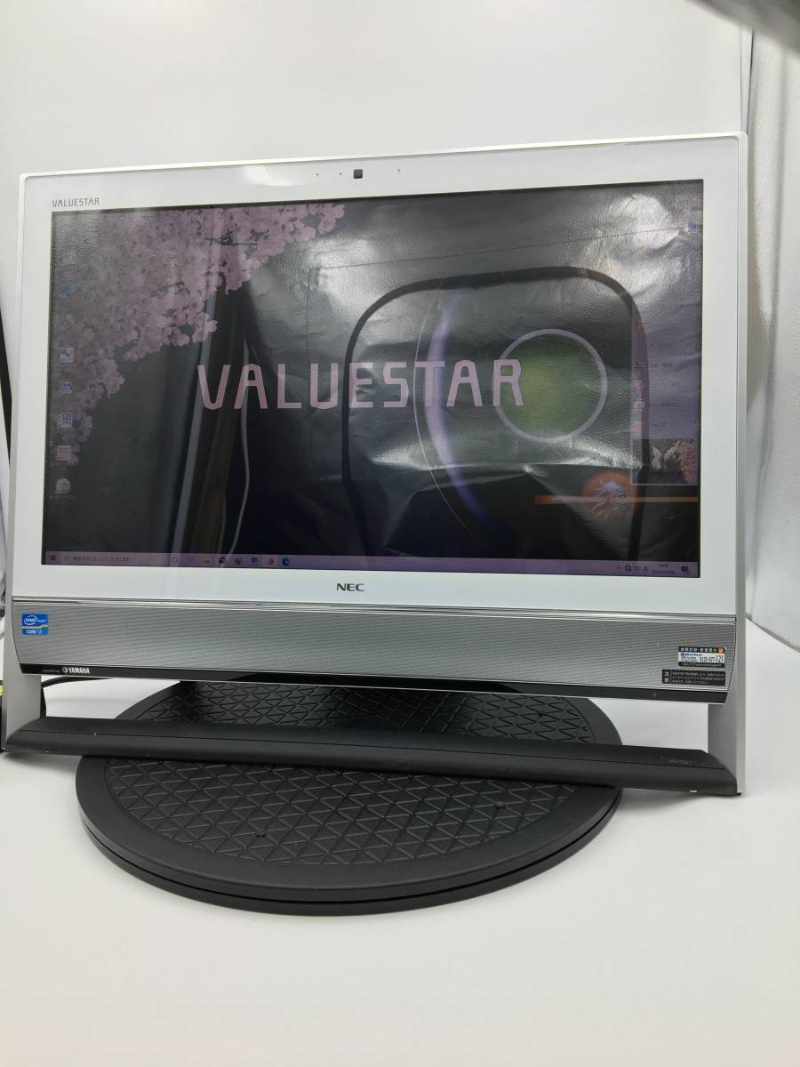 【ジャンク】NEC 一体型デスクトップパソコン VALUESTAR N VN770/LS6 PC-VN770LS6 Windows10搭載_画像1
