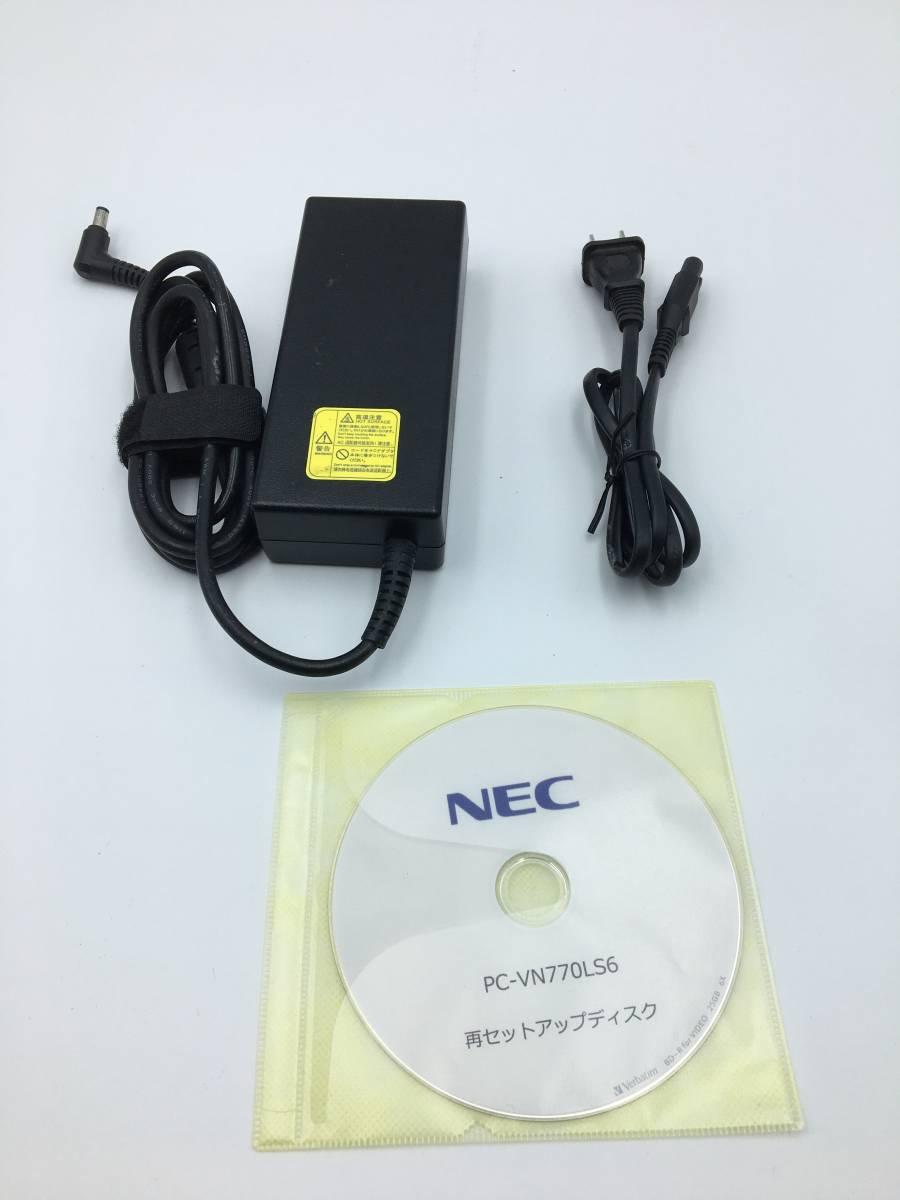 【ジャンク】NEC 一体型デスクトップパソコン VALUESTAR N VN770/LS6 PC-VN770LS6 Windows10搭載_画像9