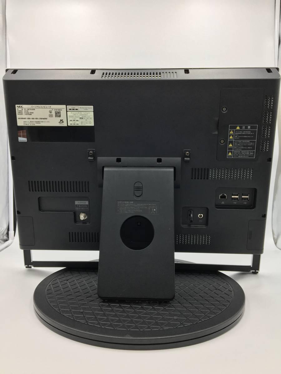【ジャンク】NEC 一体型デスクトップパソコン VALUESTAR N VN770/LS6 PC-VN770LS6 Windows10搭載_画像6