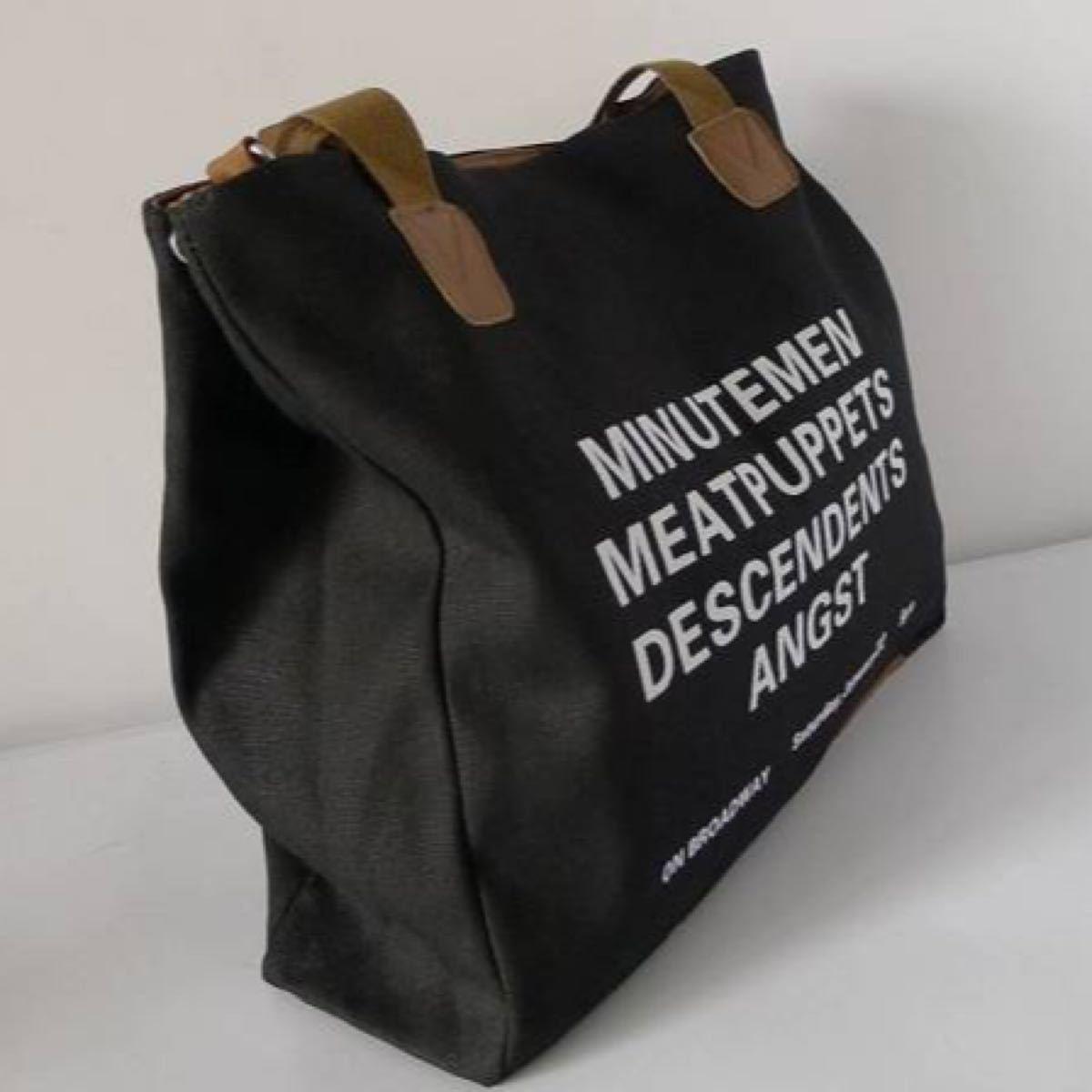 トート バッグ ファスナー 帆布 無印良品 DEAN&DELUCA ZARA シンプル 人気 ショルダー バッグ おしゃれ