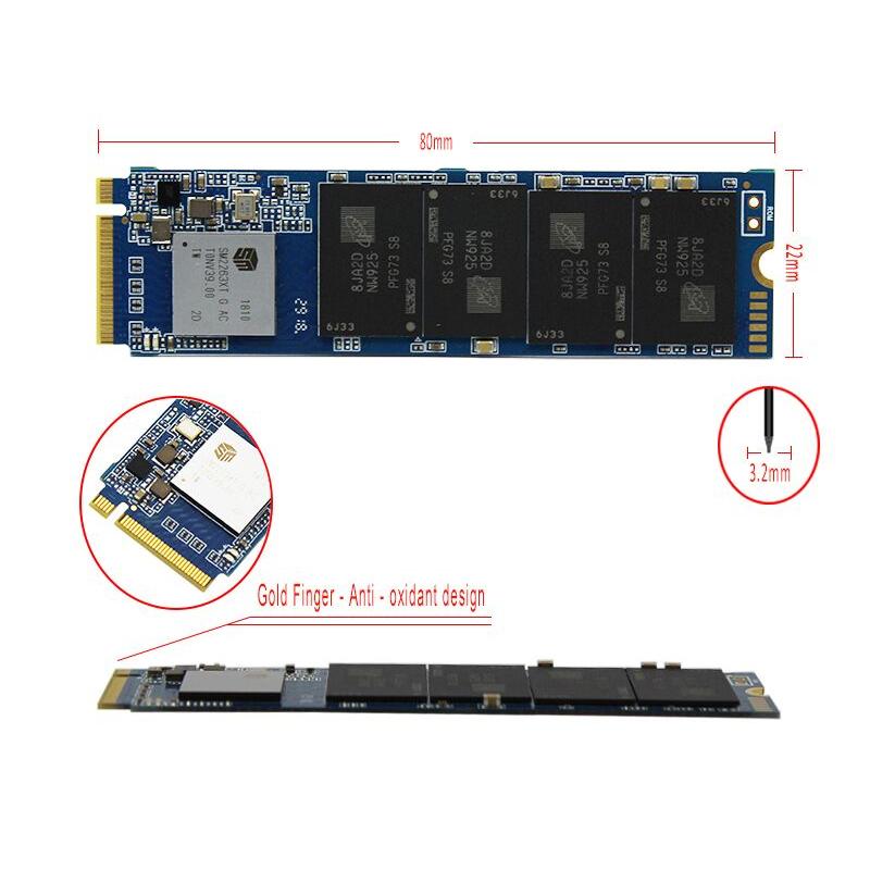 SSD Goldenfir M.2 NVMe PCI-E 256GB 新品未開封 高速 2280 TLC 3D NAND 内蔵 デスクトップ ノートPC_画像4