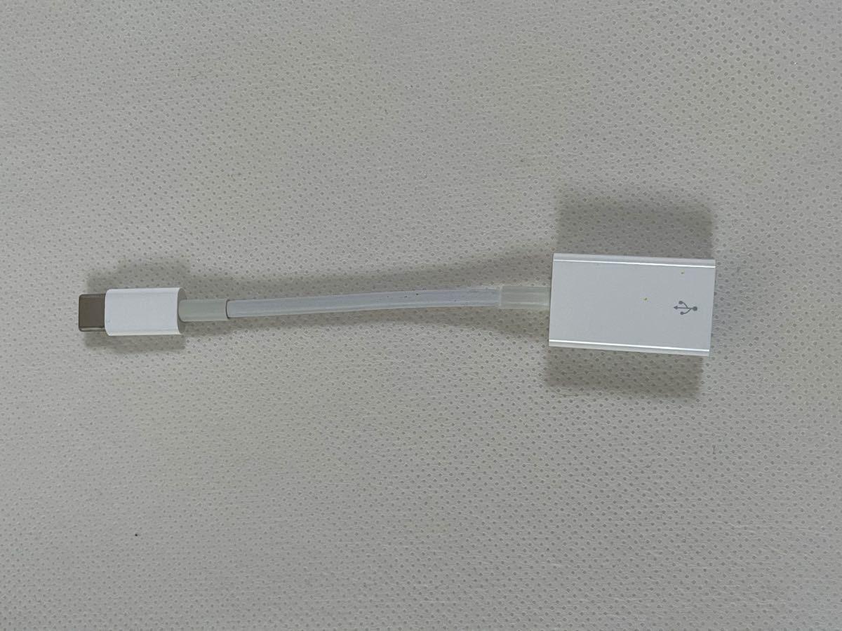 Apple純正 USB-C - USBアダプタ A1632 変換ケーブル