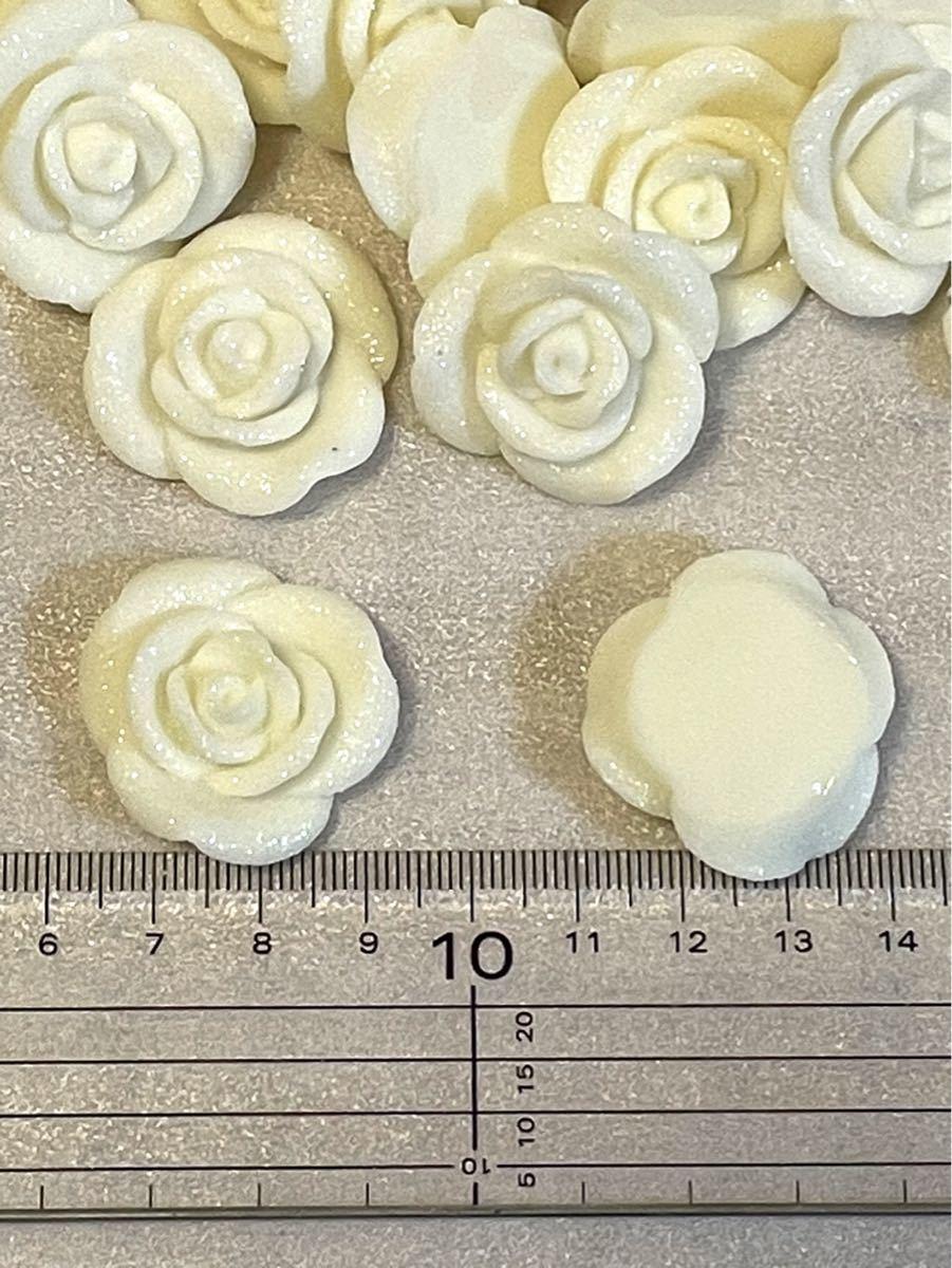 デコパーツ ハンドメイド素材 薔薇 大量セット