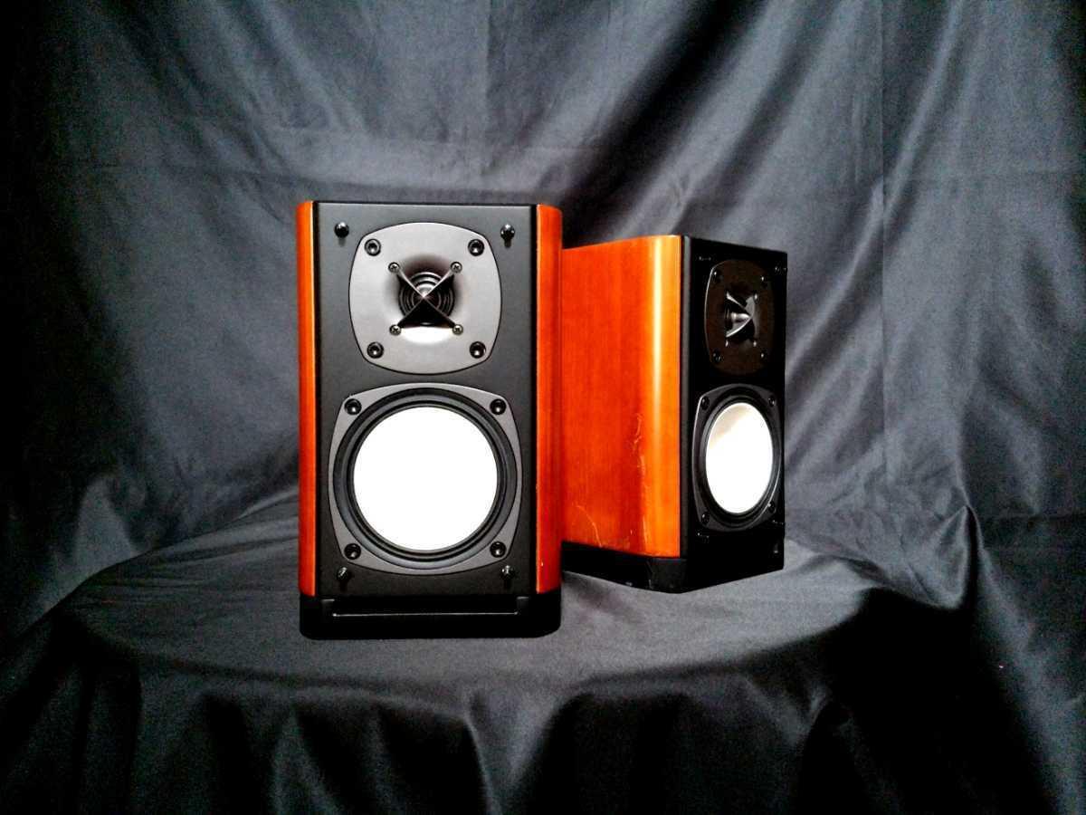 ONKYO D-112EX オンキョー高音質高解像度2wayスピーカー◇除菌クリーニング品◆最高級艶出しWAX処理◆音出し良好_画像2