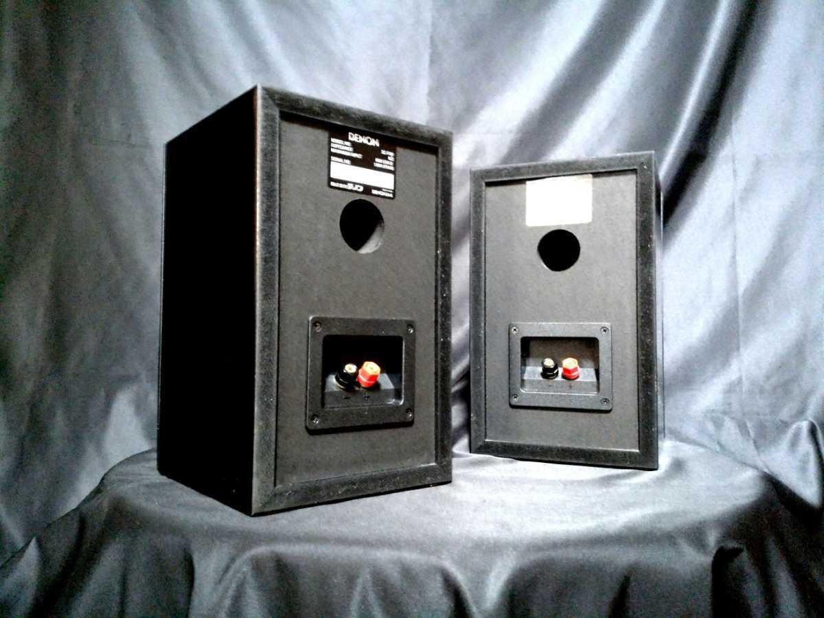 DENON SC-F101 デノン高音質3wayスピーカー◇除菌クリーニング品◆最高級艶出しWAX処理◆音出し良好_画像10
