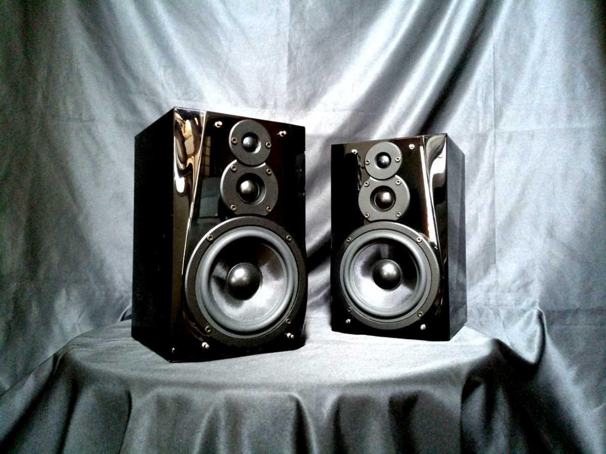 DENON SC-F101 デノン高音質3wayスピーカー◇除菌クリーニング品◆最高級艶出しWAX処理◆音出し良好_画像4