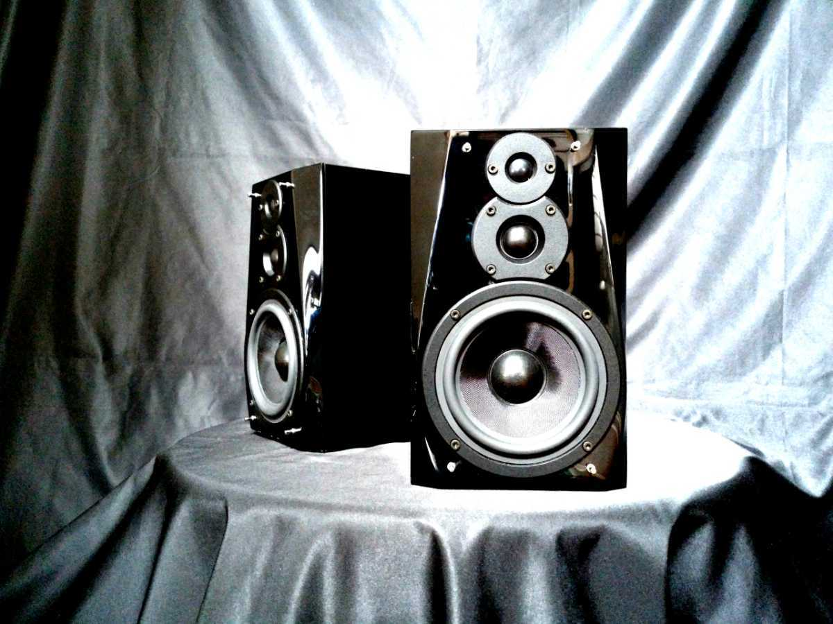 DENON SC-F101 デノン高音質3wayスピーカー◇除菌クリーニング品◆最高級艶出しWAX処理◆音出し良好_画像2