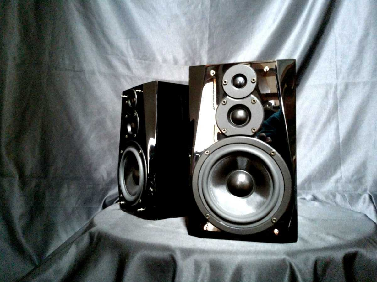 DENON SC-F101 デノン高音質3wayスピーカー◇除菌クリーニング品◆最高級艶出しWAX処理◆音出し良好_画像1