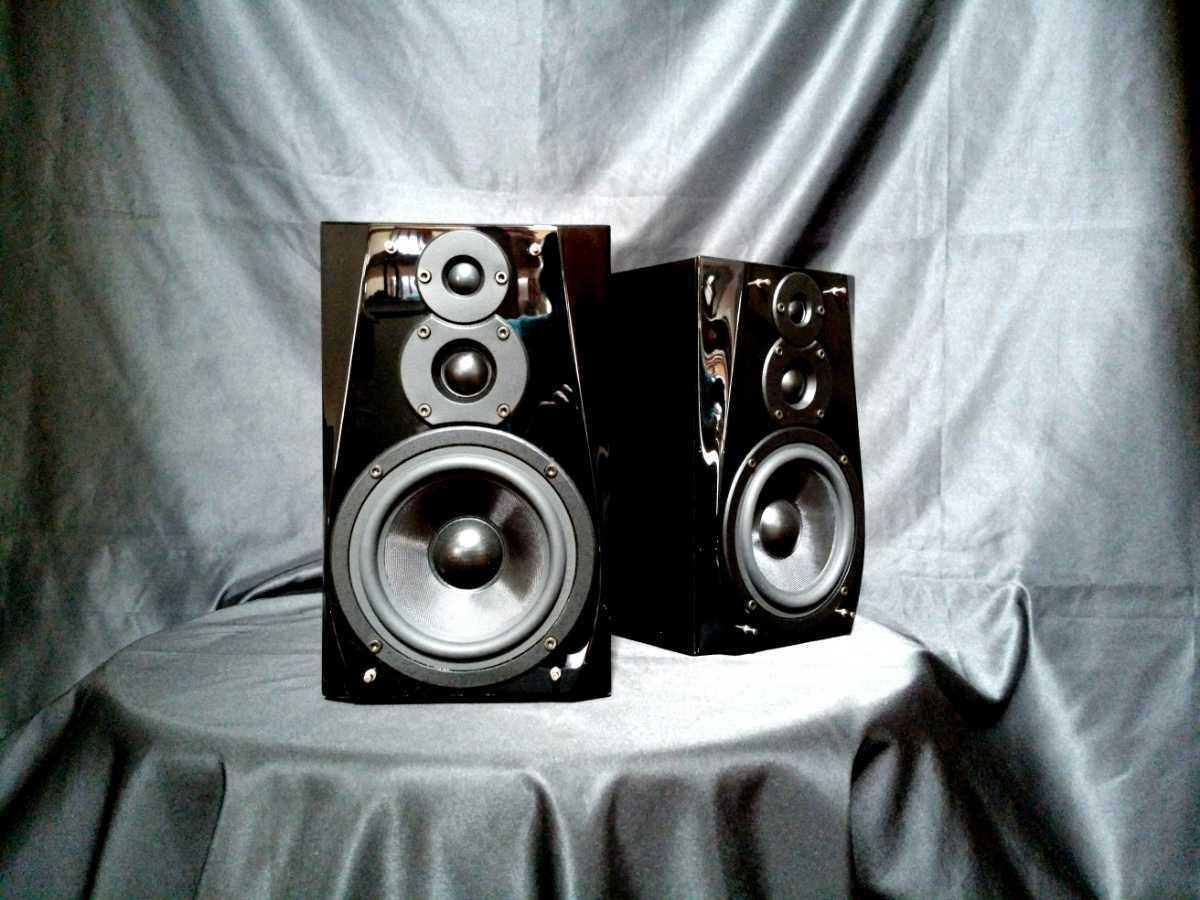 DENON SC-F101 デノン高音質3wayスピーカー◇除菌クリーニング品◆最高級艶出しWAX処理◆音出し良好_画像3