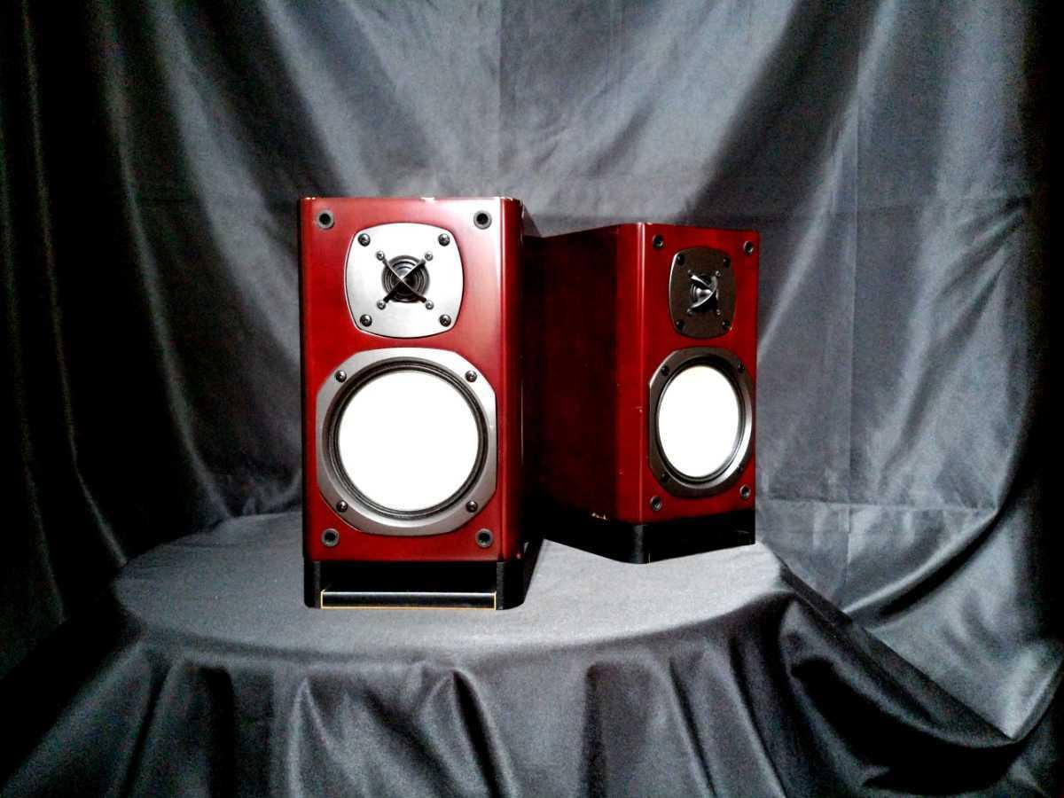 ONKYO D-N9EX オンキョー高音質2wayスピーカー☆除菌クリーニング品★最高級艶出しWAX処理★音出し良好_画像4