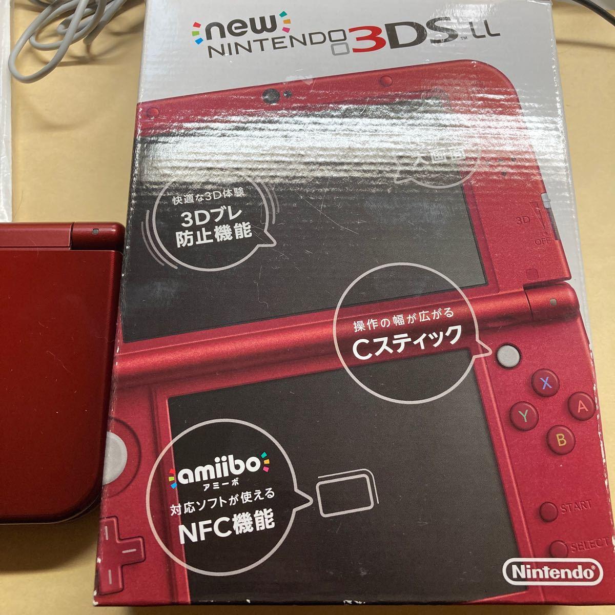 Newニンテンドー3DSLL レッド 本体 New Nintendo3DS