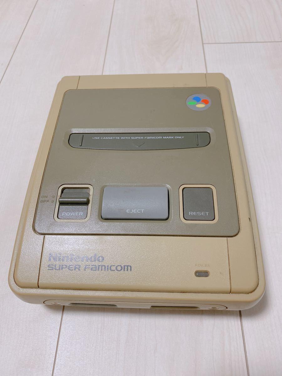 任天堂純正スーパーファミコン本体+ケーブル類 任天堂 Nintendo スーパーファミコン スーファミ SFC