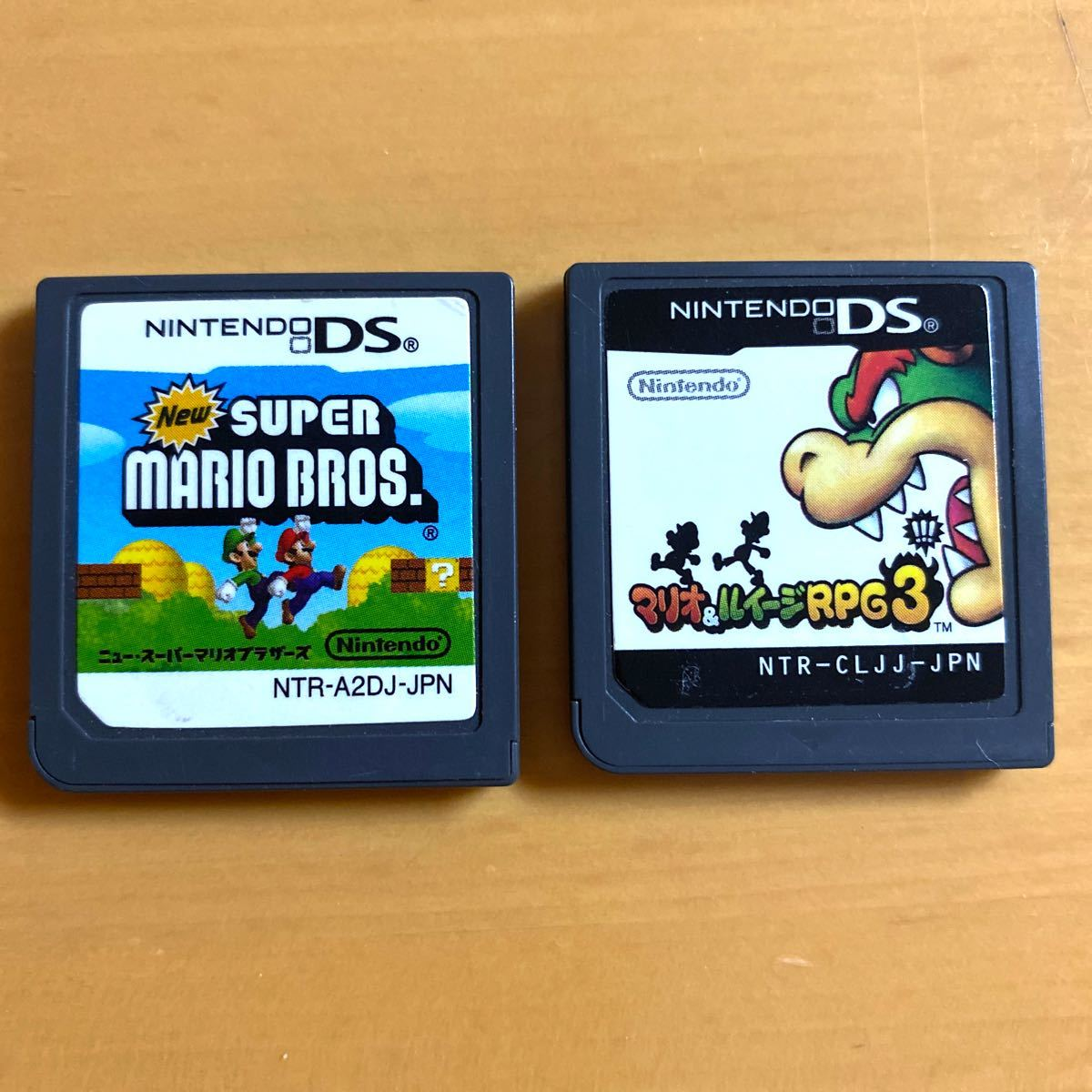 【DS】 Newスーパーマリオブラザーズ マリオ&ルイージRPG3 ソフト 2本セット