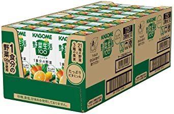新品カゴメ 野菜生活100 オリジナル 200ml×24本 + カゴメ 野菜生活100 Smoothie(スムージーA9RI_画像3