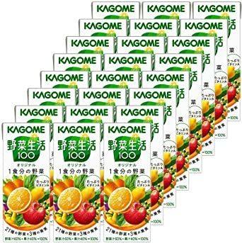 新品カゴメ 野菜生活100 オリジナル 200ml×24本 + カゴメ 野菜生活100 Smoothie(スムージーA9RI_画像4