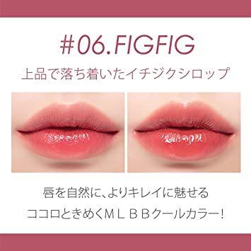 【新品未使用】ピンクrom&nd(ロムアンド)【正規品】JLティント(#06フィグフィグ)5.5g口紅5.5g_画像3