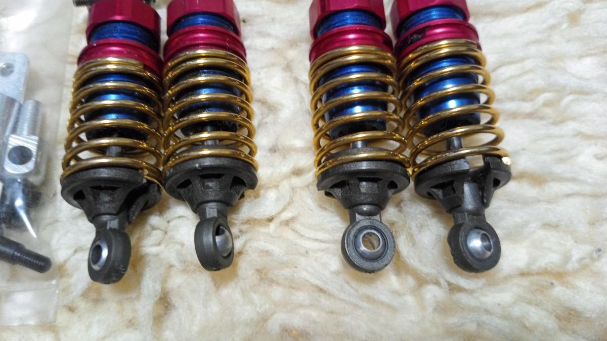 ラジコン RC 1/10 ツーリングカー用 アルミ オイルダンパー