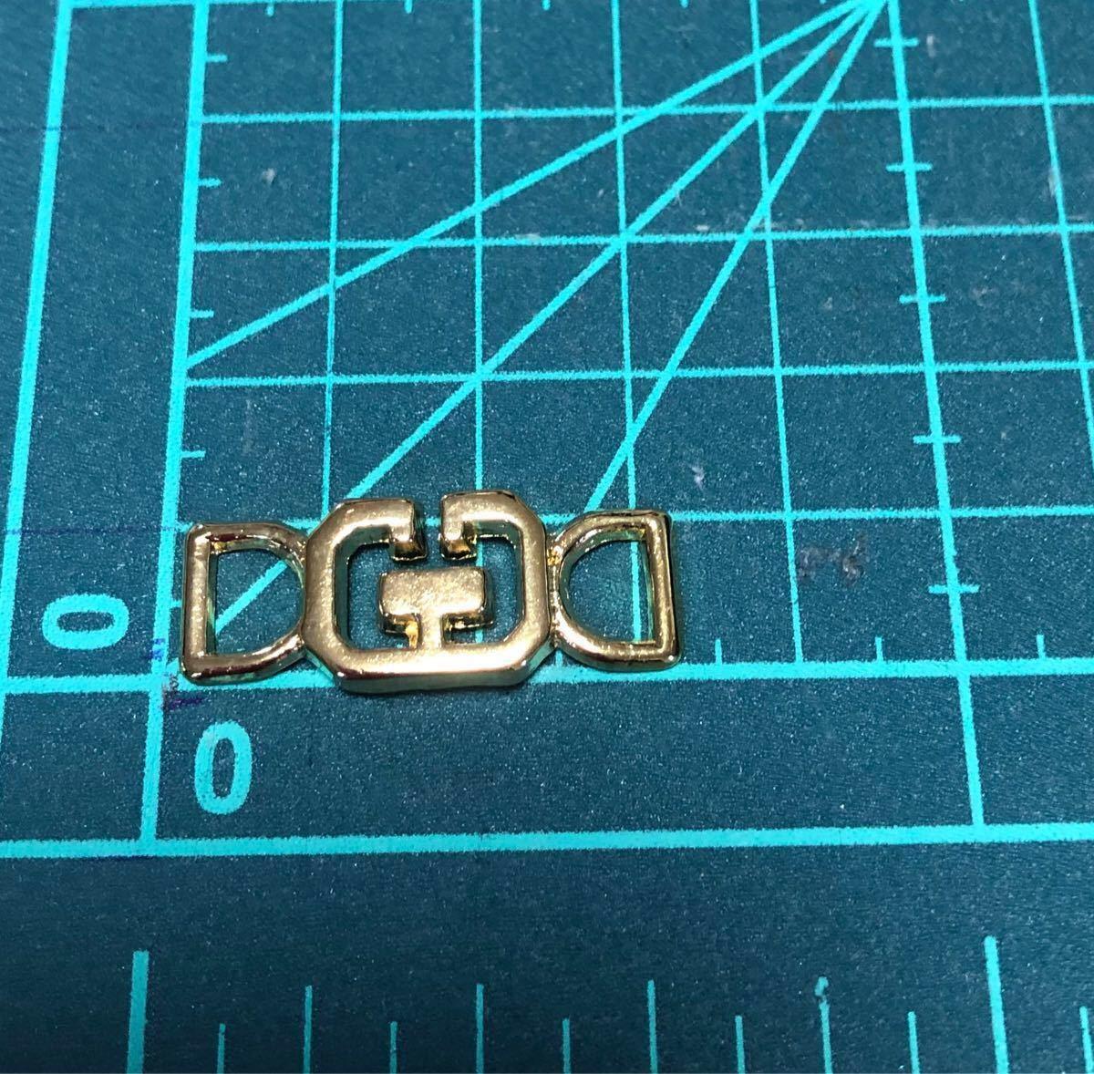 ゴールドメタルパーツ 10個 ハンドメイドに