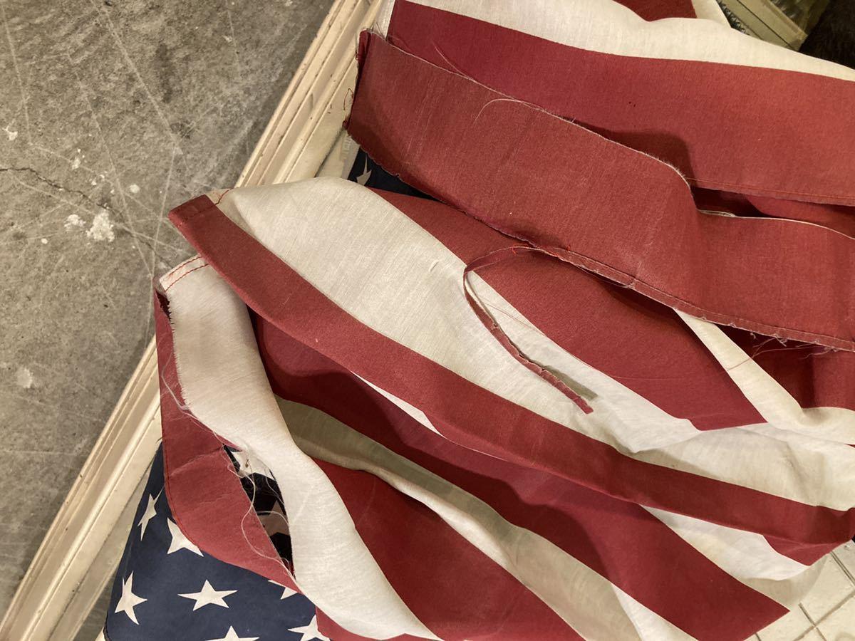 ビンテージUSAフラッグ星条旗4西海岸サーフスケートバイカー軍モノミリタリーカリフォルニアウトドアメリカントリー車ガレージ世田谷ベース_画像8