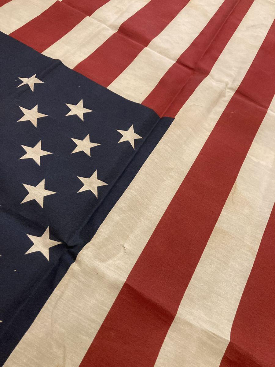 ビンテージUSAフラッグ星条旗4西海岸サーフスケートバイカー軍モノミリタリーカリフォルニアウトドアメリカントリー車ガレージ世田谷ベース_画像2