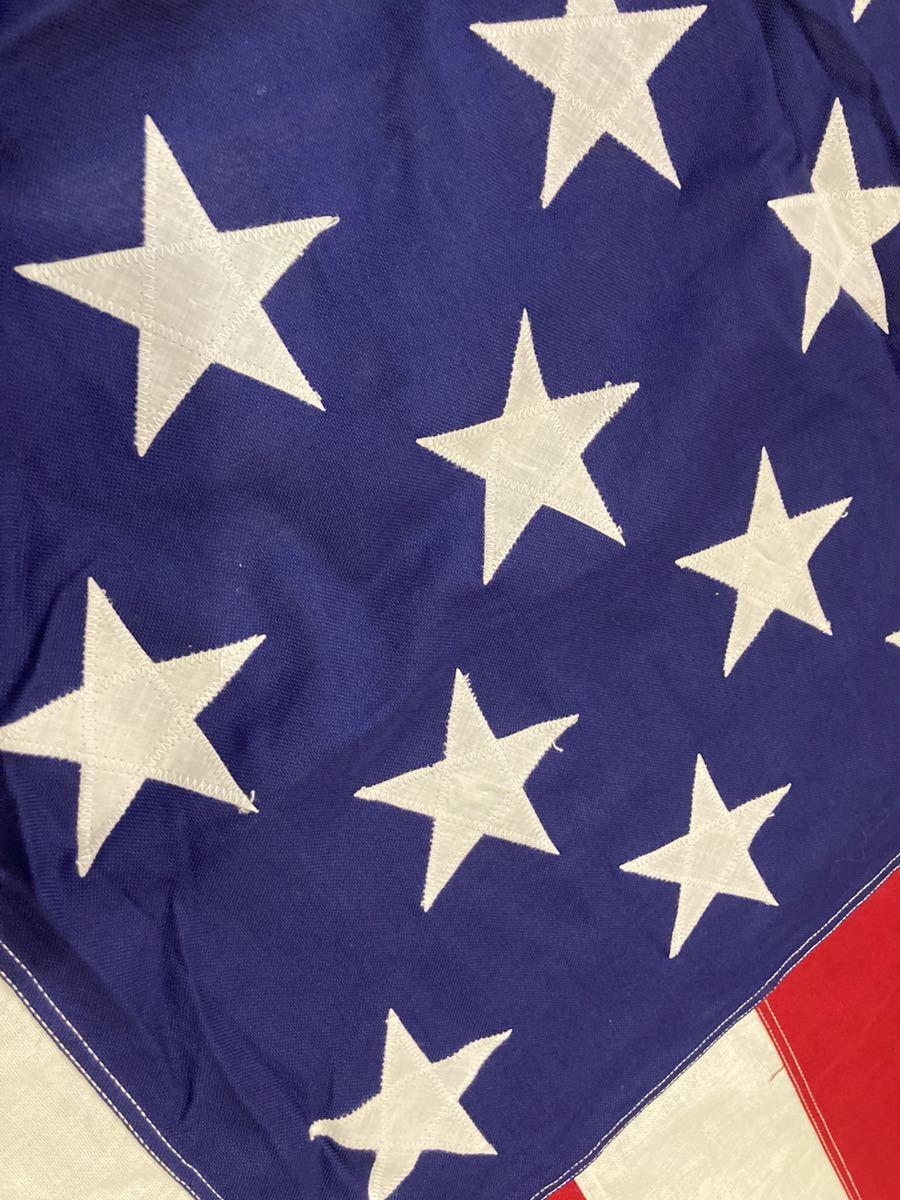 ビンテージUSA特大フラッグ星条旗3西海岸サーフスケートバイカー軍ミリタリーカリフォルニアウトドアメリカントリー車ガレージ世田谷ベース_画像3