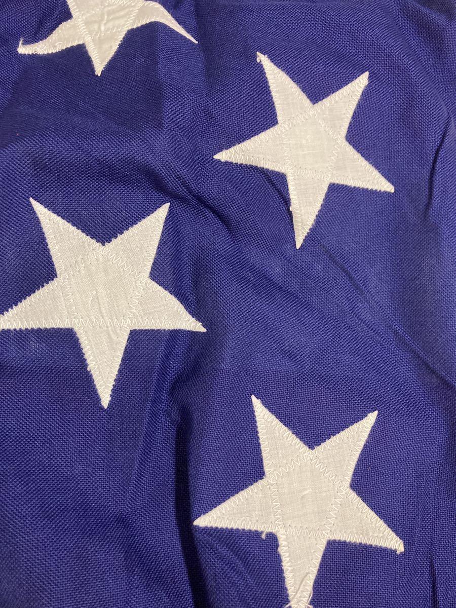 ビンテージUSA特大フラッグ星条旗3西海岸サーフスケートバイカー軍ミリタリーカリフォルニアウトドアメリカントリー車ガレージ世田谷ベース_画像9