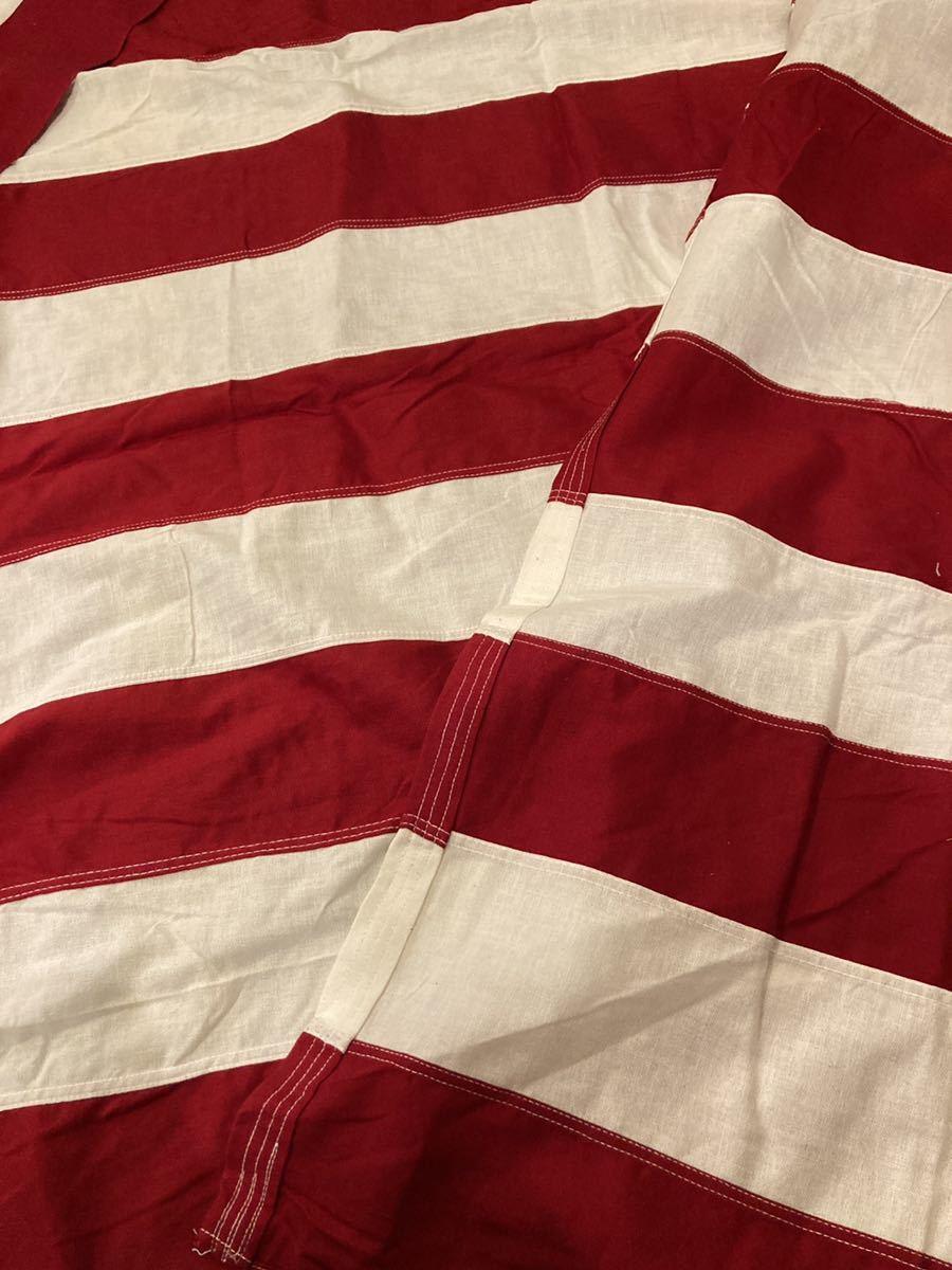 ビンテージUSA特大フラッグ星条旗3西海岸サーフスケートバイカー軍ミリタリーカリフォルニアウトドアメリカントリー車ガレージ世田谷ベース_画像7