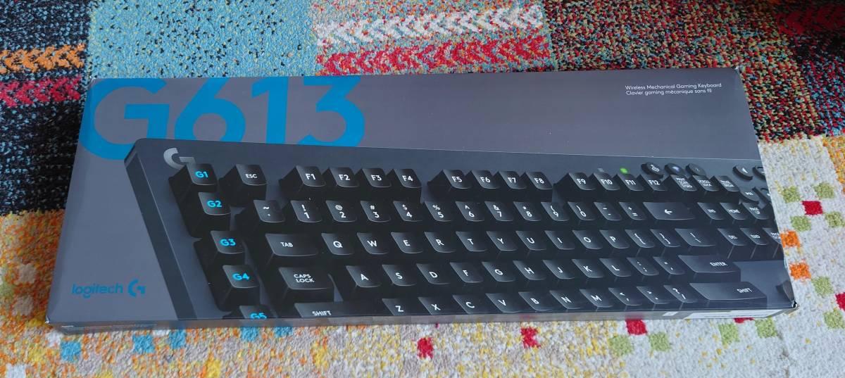 【送料無料】Logicool G613 ワイヤレスゲーミングキーボード 英語配列