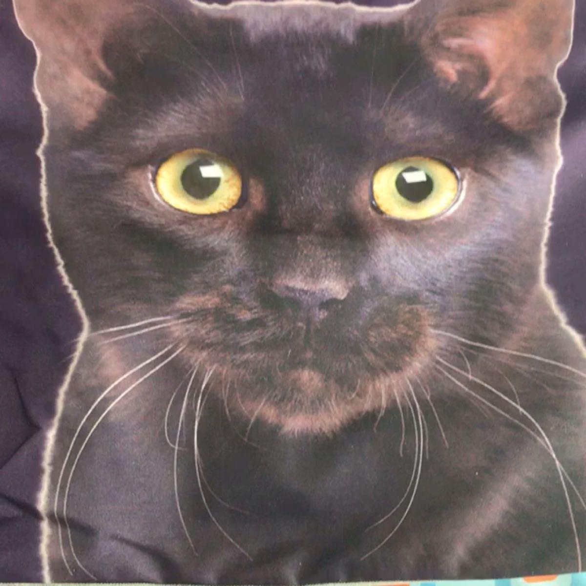 猫好き 猫バック トートバッグ 買い物バック ファスナー付き 裏地中ポケット