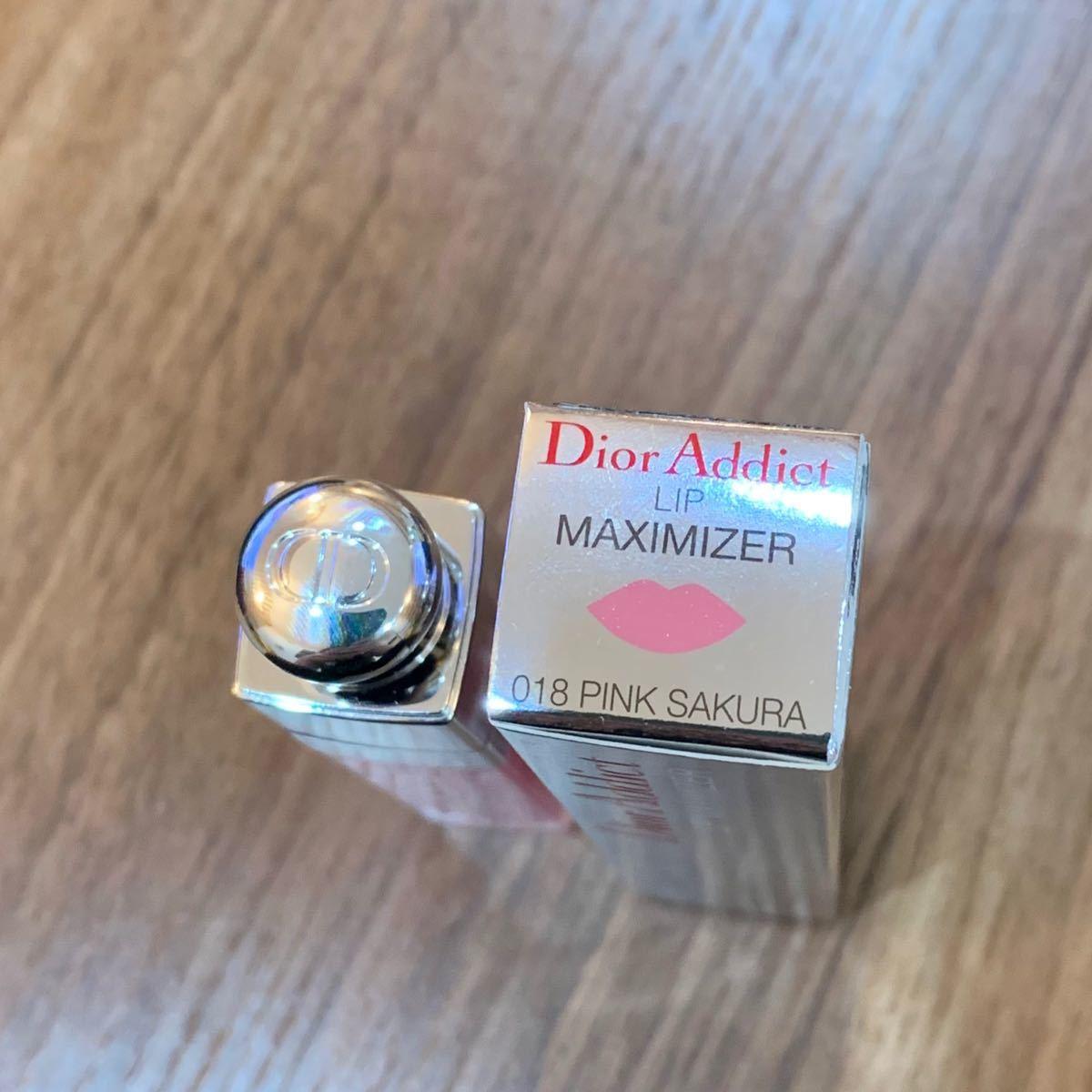 Dior ディオール アディクト リップマキシマイザー018 PINK SAKURA(ピンクサクラ)