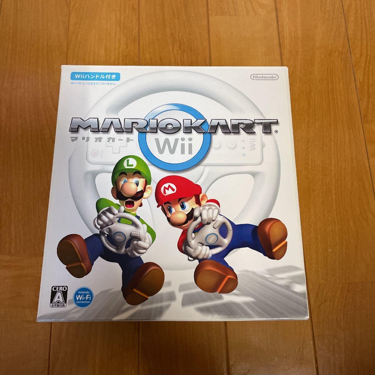 マリオカートWii Wiiハンドル ヌンチャク 任天堂