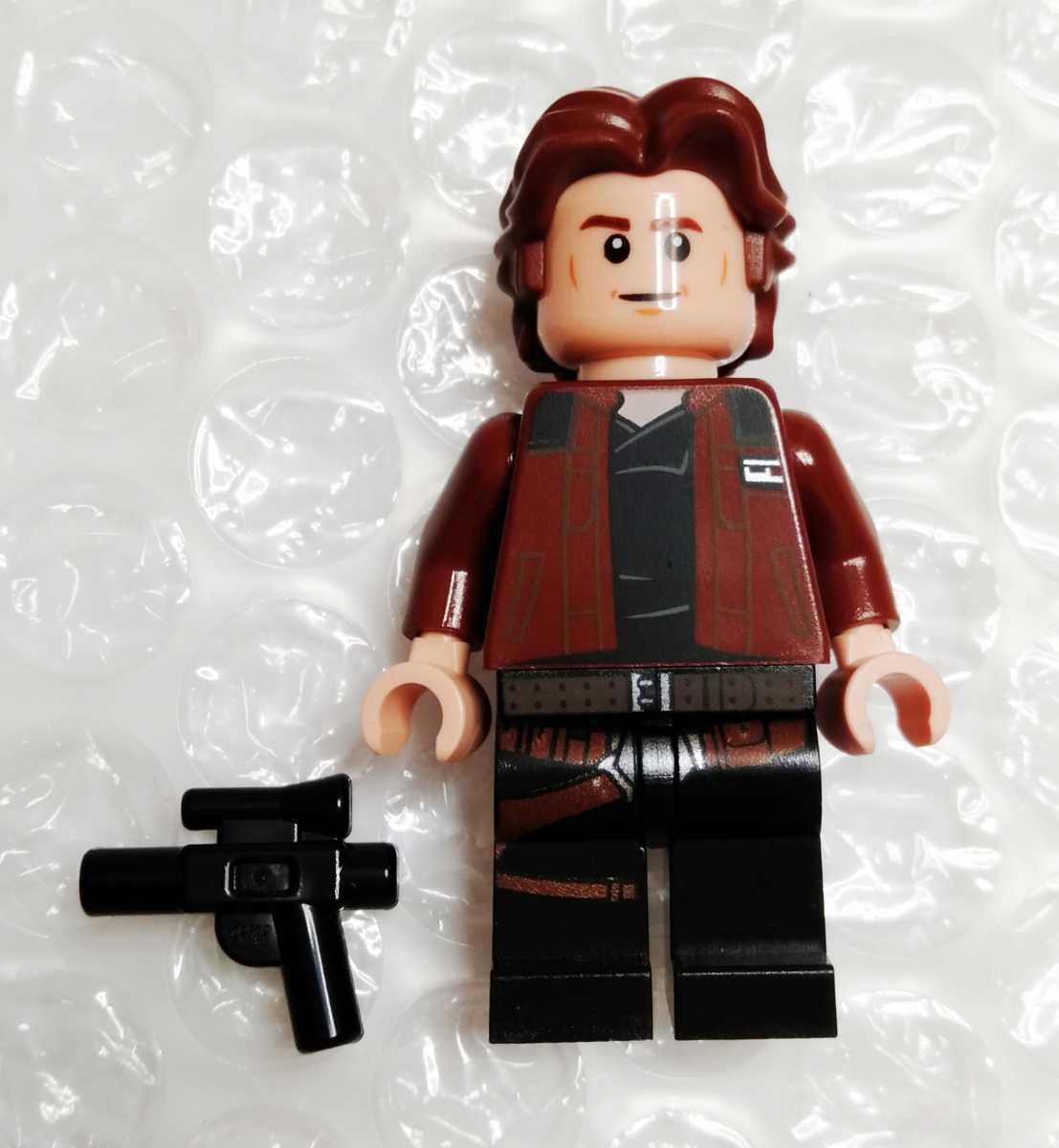 新品 ハン・ソロ 75212 スター・ウォーズ ミレニアム・ファルコン ミニフィグ レゴ アクセサリー LEGO フィグ 持ち物_画像1
