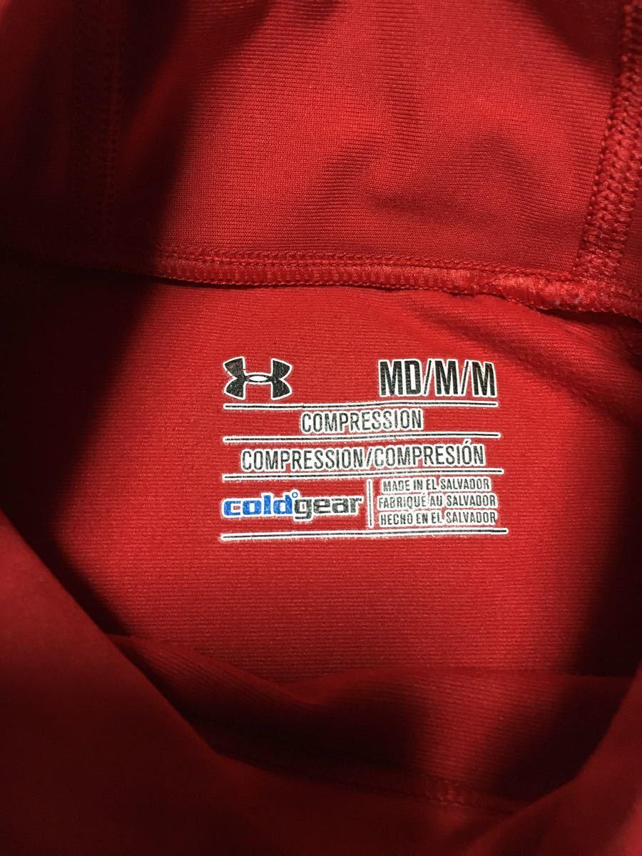 アンダーアーマー UNDER ARMOUR インナーシャツ 長袖 cold gear mock