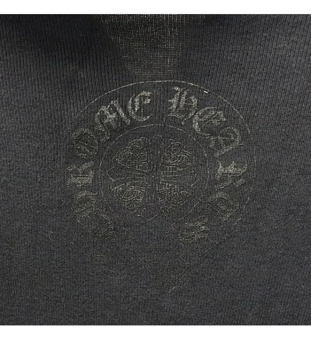 銀座店 クロムハーツ ダガージップ パーカー トップス ロングスリーブ 黒size:L_画像3