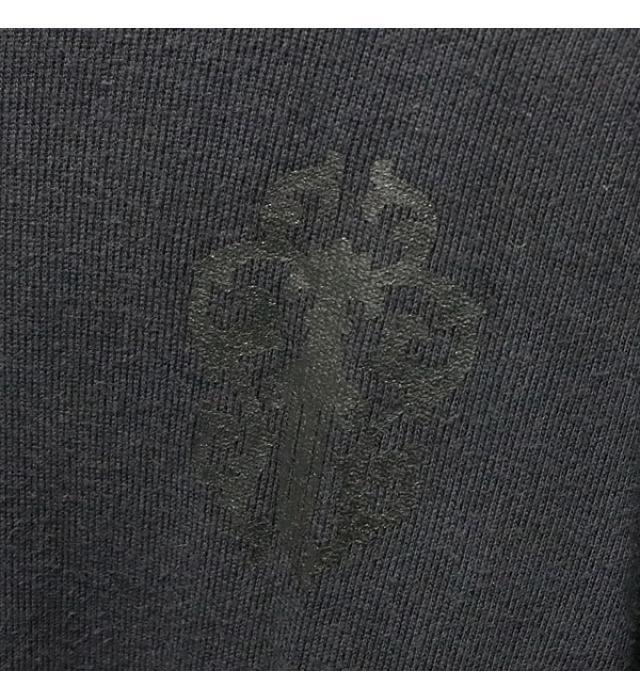 銀座店 クロムハーツ ダガージップ パーカー トップス ロングスリーブ 黒size:L_画像4
