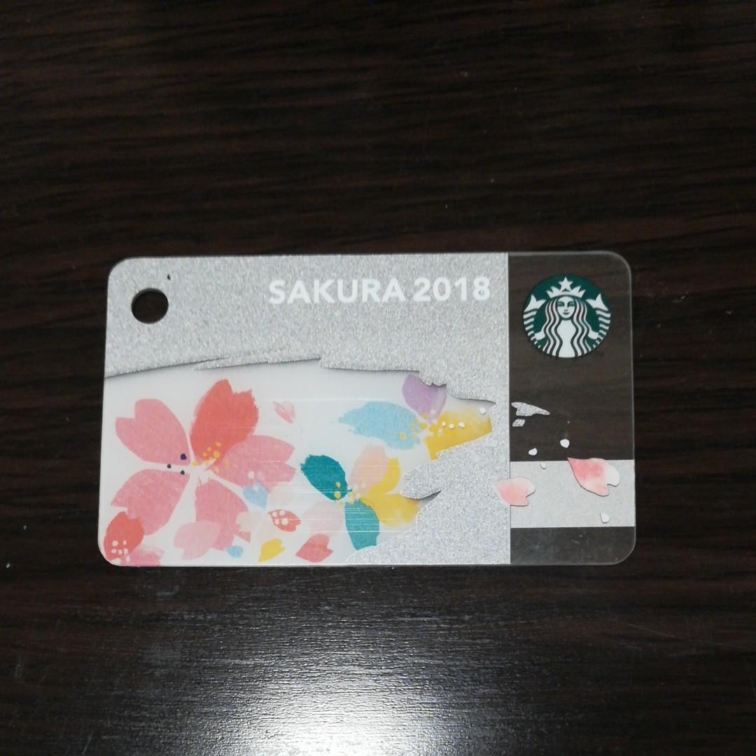 スターバックスカード◆スタバカード◆桜◆さくら◆PIN未削り