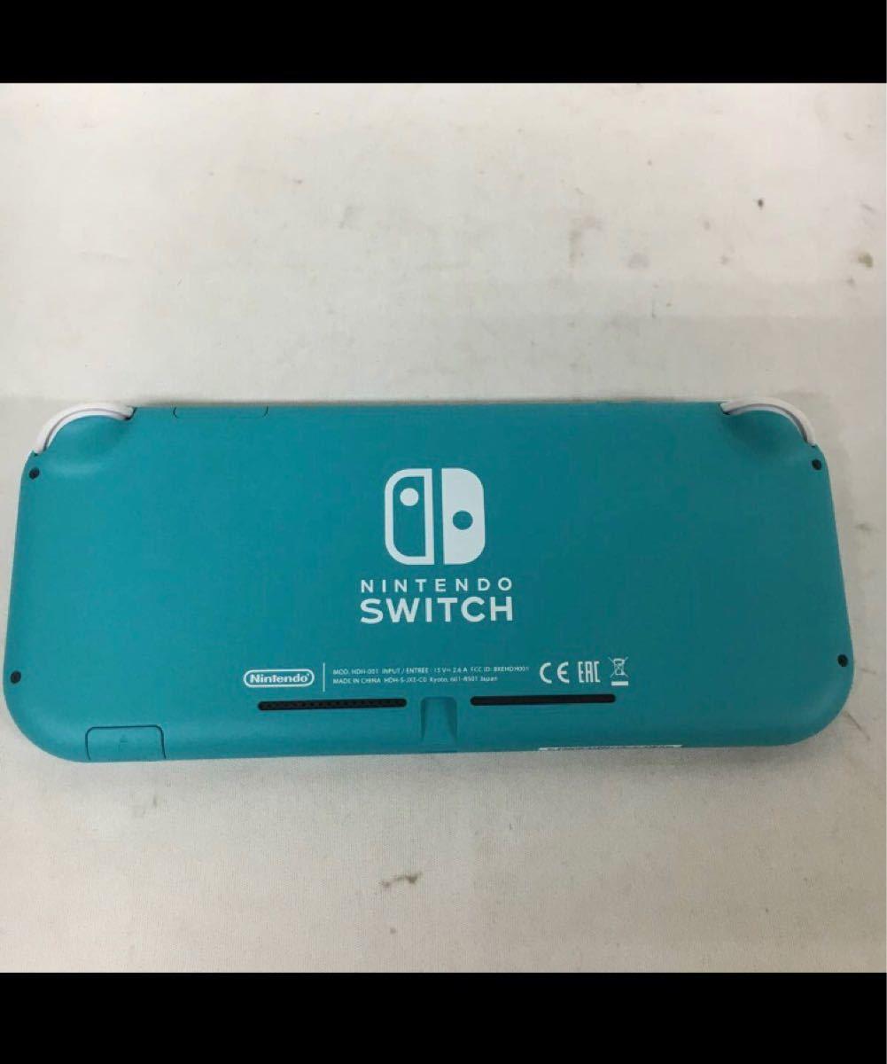 ニンテンドー 任天堂 Nintendo Switch Lite スイッチ ライト ターコイズ 本体 美品