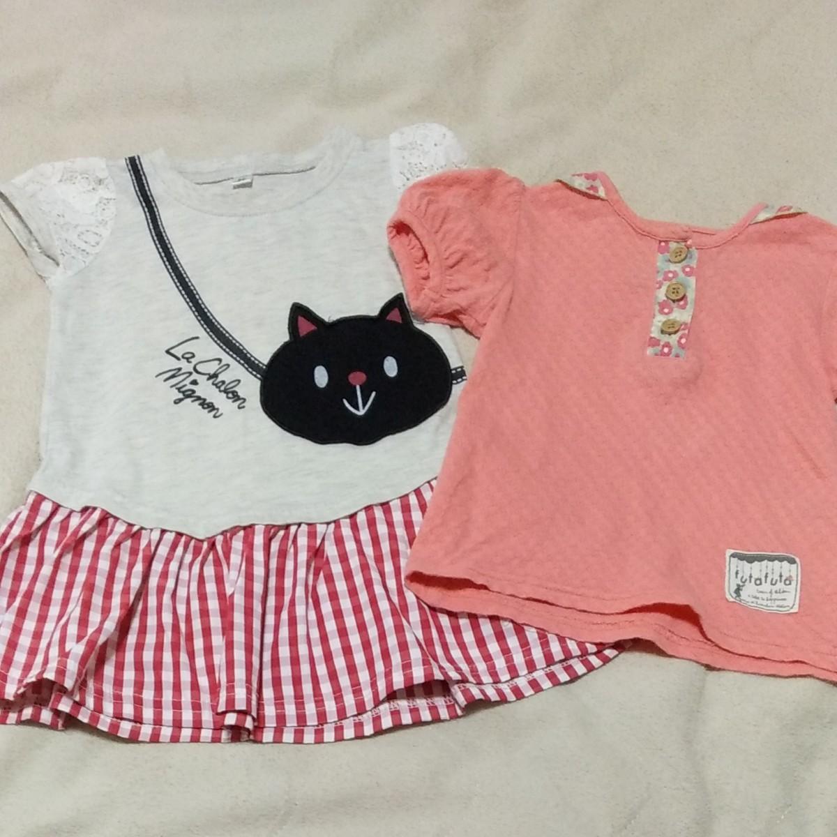【専用出品】半袖Tシャツ半袖ワンピース4着セット80サイズ