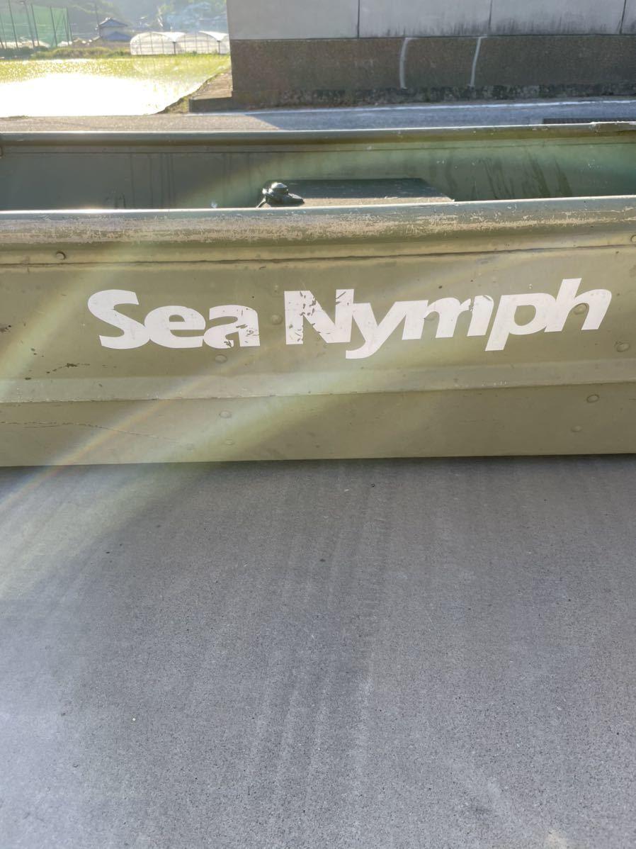 アルミボート バス釣り シーニンフ12フィート ジョンボート引き取り_画像2